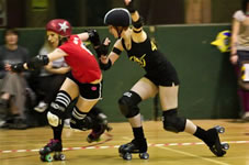 Bear chases down the Jammer