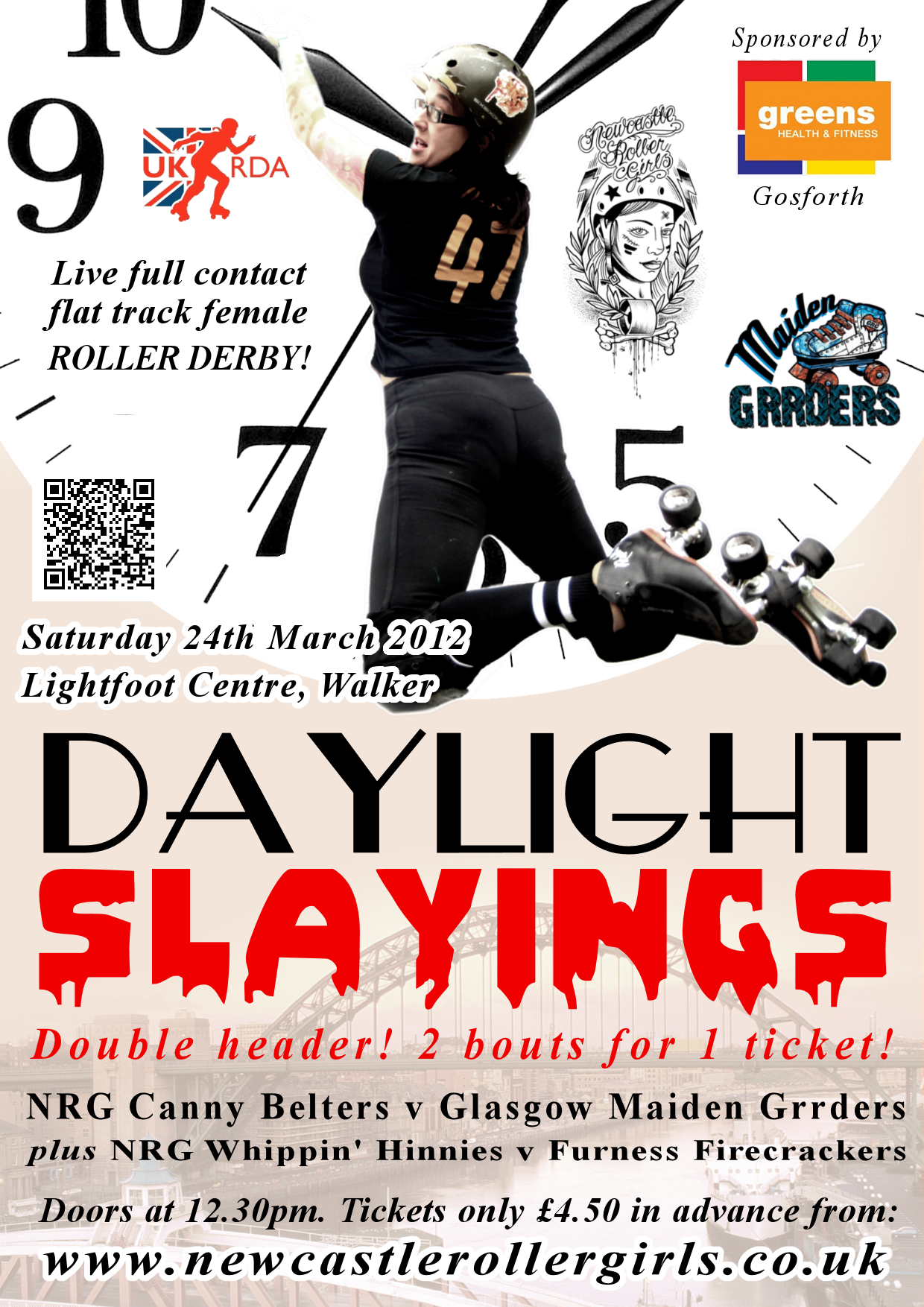 Daylight Slayings tickets on sale now!